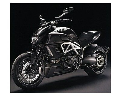 2012 Ducati Diavel AMG Motorcycle Factory Photo ca6548