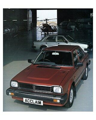 1983 Triumph Acclaim Factory Photo ca6557