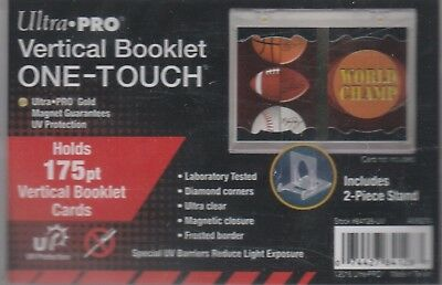 NEW ULTRA PRO VERTICAL BOOKLET ONE-TOUCH 175pt. MAGNETIC HOLDER w/ 2-PIECE STAND