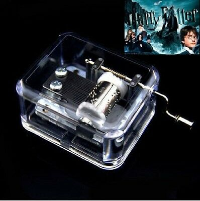 Sankyo Hand Crank Music Box ♫ Harry Potter Hedwigs Theme ♫