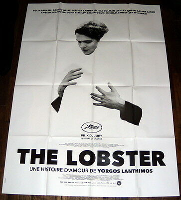 THE LOBSTER Colin Farrell Rachel Weisz Jessica Barden LARGE French POSTER