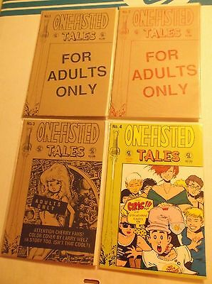 One-Fisted Tales # 1, 2, 3, 4, Set / Lot / Run • $1.25