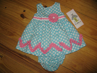 Rare Editions Baby Girl Outfit 2 Piece Set 6 Months,nwt
