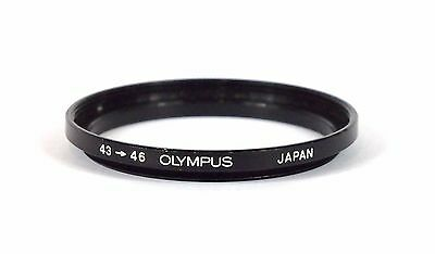 Olympus 43-46 Step Up Adapter Ring. Japan. Excellent.