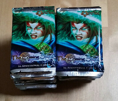 L5R legend of the five rings ccg booster box lot of -- 36 THE COMING STORM packs