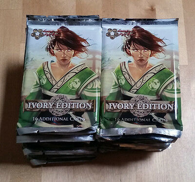 L5R legend of the five rings ccg - lot of 30 IVORY EDITION booster packs