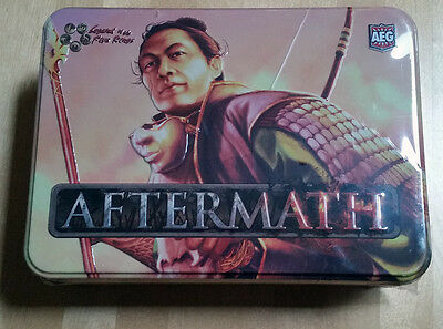 L5R legend of the five rings ccg - sealed AFTERMATH tin booster box