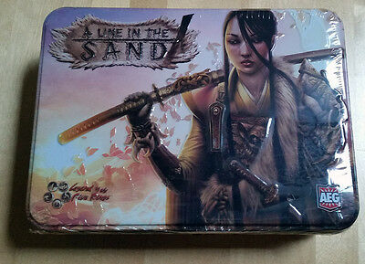 L5R legend of the five rings ccg - sealed A LINE IN THE SAND tin booster box