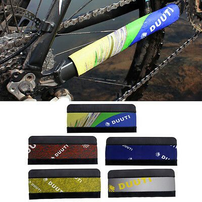 Cycling Bicycle BIke Chain Stay Protector Care Sticker Guard Pad Cover Wrap New