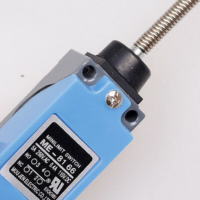 AC380V 10A Flexible Spring Arm DPST 2NC 2NO Limit Switch for CNC Lathe