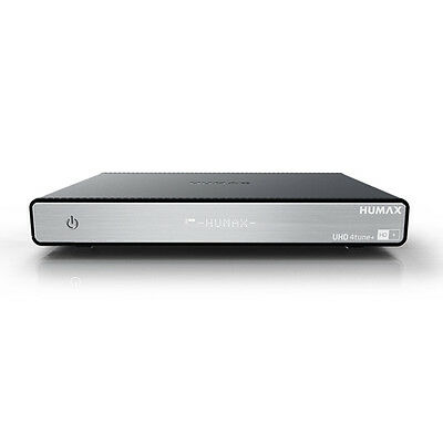 Humax UHD 4tune+ Ultra HD Satellitenreceiver Quad Tuner HD+ WLAN SAT>IP Server