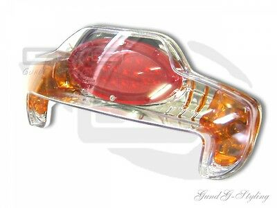 LED Rear Light with Certification Mark for MBK Booster, Yamaha BWS (01 Spirit