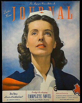 Promotional Show Card - Nurse Ladies Home Journal  Alfred Cheney Johnston 1941