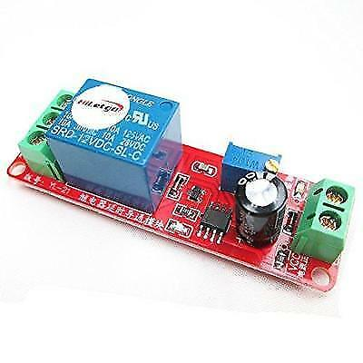 HiLetgo DC 12V NE555 Delay Relay Module Adjustable Timer Relay Switch Delay