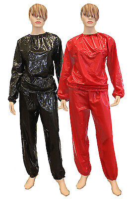 PVC Sweatsuit Sauna suit trousers glossy look Diaper pants smooth and