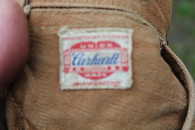 TRUE VINTAGE 40s CARHART INSULATED WORK JEANS  W 32 L 30.5""