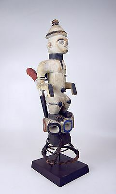 A Very Rare Old Ibo figural Headdress, African Art