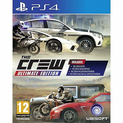 The Crew Ultimate Edition PS4 Game - Brand New!