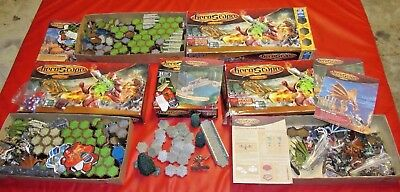 Huge Lot Of 4 Heroscape Games Figures/dragons/heroes