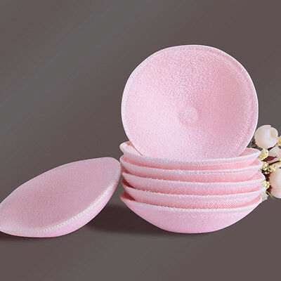 New Breast Pads Reusable Cotton Baby Nursing Breastfeeding Pink Cover 1/6/10PCS