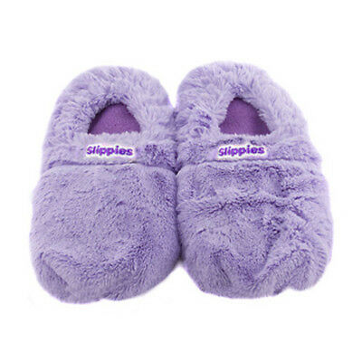 Comfortable Soothing and Therapeutic Heatable Cozy Slippers Purple Designed