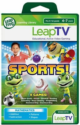 LeapFrog LeapTV Sports Educational Maths Software. From Argos