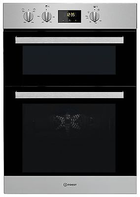 Indesit IDD6340IX Double Oven74L Built In - Stainless Steel. From Argos on ebay