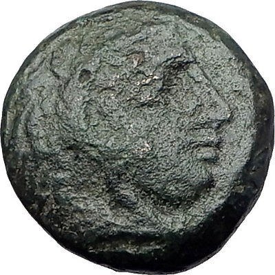 ALEXANDER III the Great 325BC Macedonia Ancient Greek Coin HERCULES CLUB i61368