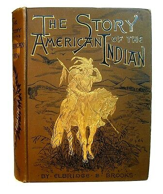 Antique NATIVE AMERICAN Book 1887 INDIAN WAR Tribes Chiefs Massacres Scalping US