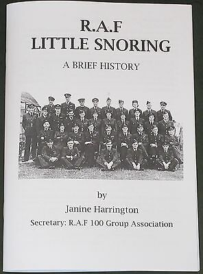 RAF LITTLE SNORING Norfolk Airfield Brief History WW2 Royal Air Force Squadrons