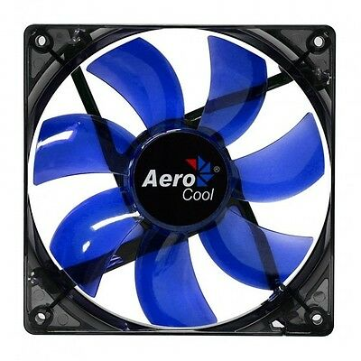 Aerocool Lightning Ventola da 120mm A Led Blue