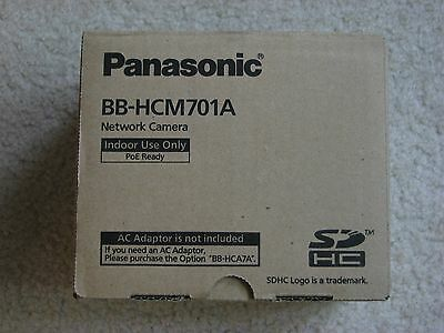 Panasonic Indoor Network Camera BB-HCM701A Brand New In Box Security POE Ready
