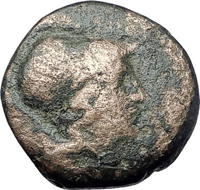 LARISSA Thessaly Ancient Greek Coin for THESSALIAN LEAGUE - ATHENA HORSE i61349
