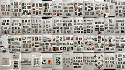 £££ Niger colonie France + ind.- collection timbres feuilles MOC -high CV