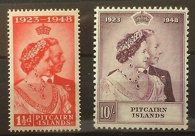 £££ Pitcairn Islands timbres stamps MNH** - Queen souverains Britanniques - 1949