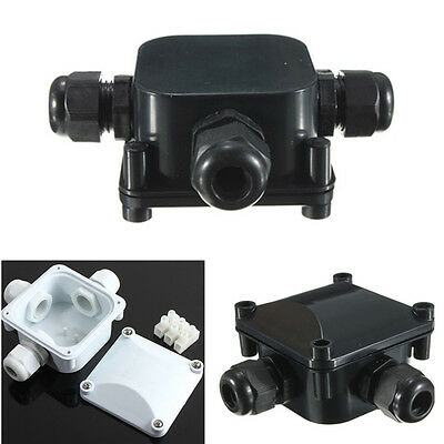 IP68 3 WAY Terminal Waterproof Junction Box Plastic Electric Case Protection