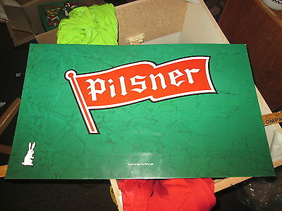 Old Style Pilsner Beer SIGN rare promo