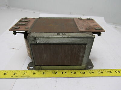 GE General Electric 9T55Y53 1.500 KVA 60Cy. Transformer 460/230V-AC 115V-AC