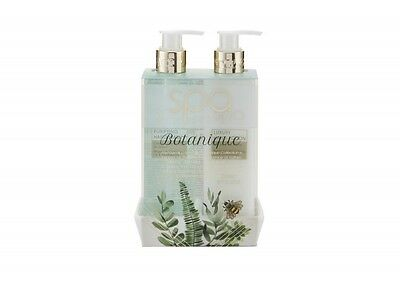 Style & Grace Spa Botanique Luxury Handcare Gift Set 240Ml Hand Lotion + 240Ml H