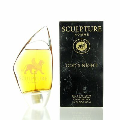 Nikos Sculpture Homme Gods Night Eau de Toilette 100 ml EDT NEU OVP