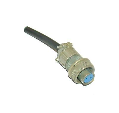 New Complete Amphenol  12S-3S   Circular 2-Pin Female Straight Connector