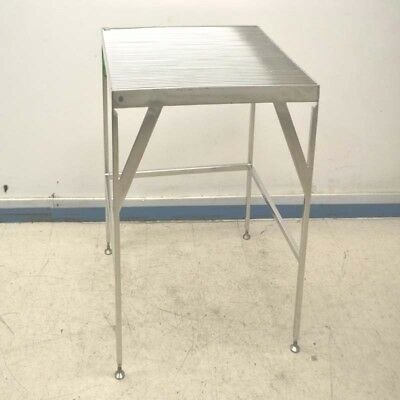 "Stainless Steel 36"" Length x 36"" Width x 36"" Height Wire Top Work Table"