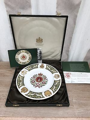 Spode Regiment Plate  The Green Howards Regiment With Certificate