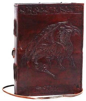 Leather Bound REGAL DRAGON Book of Shadows!
