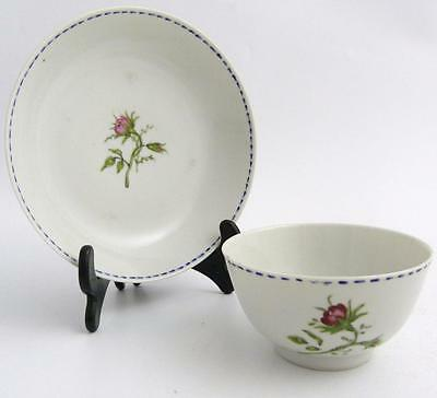Chinese Famille Rose Porcelain Tea Bowl And Saucer, 18Th Century