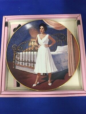 Elizabeth Taylor Cat On A Hot Tin Roof Royal Orleans Limited Edition Plate Liz