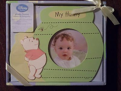 Disney Baby Winnie the Pooh My Hunny Photo Picture Frame -- NEW