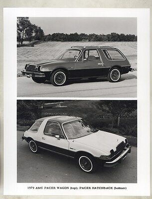 1979 AMC Pacer Wagon & Hatchback ORIGINAL Factory Photograph ww9057