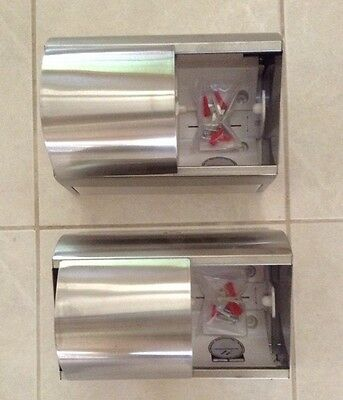 Kimberly-Clark Professional Toilet Tissue Dispenser, TWO, Stainless Steel, NEW