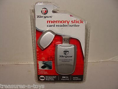 Targus HIGH SPEED DATA TRANSFER MEMORY STICK / CARD READER WRITER / USB CABLE